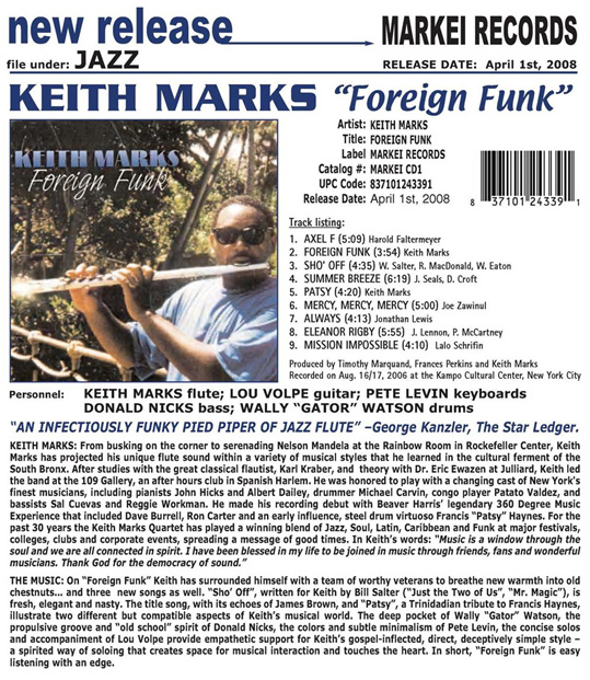 Foreign Funk Release
